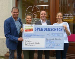 Spendenübergabe von 15.300 €