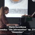 Tschaikowski Dezember